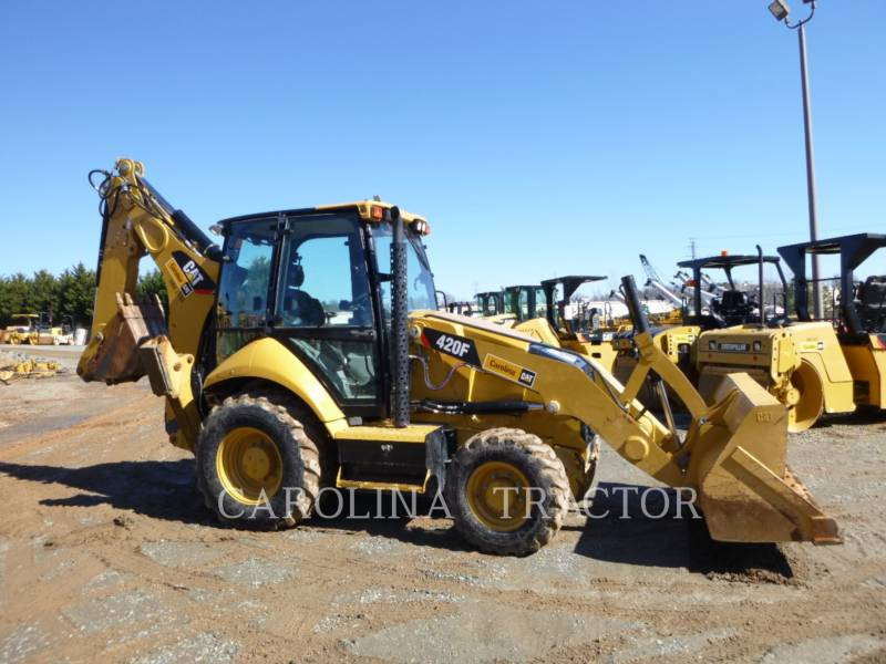 CATERPILLAR RETROESCAVADEIRAS 420F CB equipment  photo 5