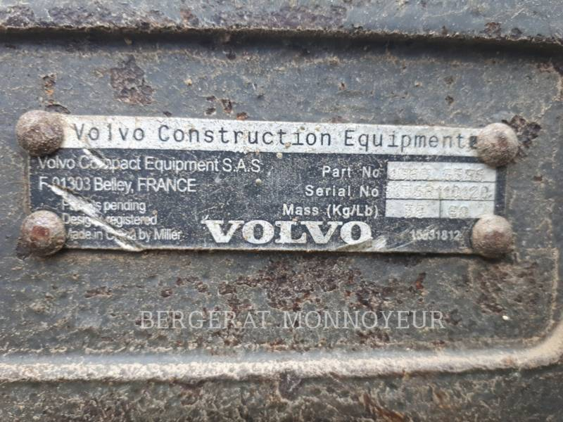 VOLVO CONSTRUCTION EQUIPMENT トラック油圧ショベル ECR48C equipment  photo 9