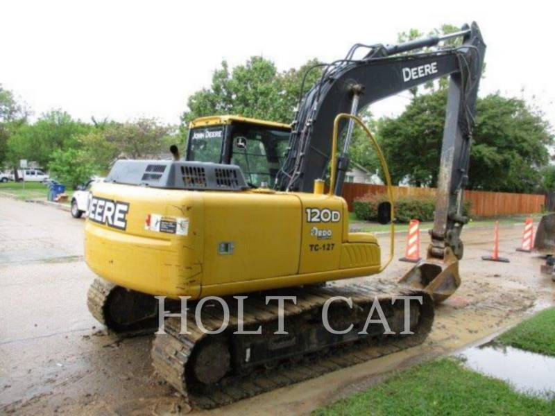 DEERE & CO. TRACK EXCAVATORS 120D equipment  photo 3
