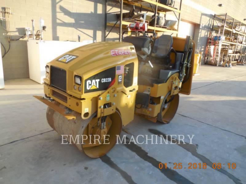 CATERPILLAR COMPATTATORE PER ASFALTO A DOPPIO TAMBURO VIBRANTE CB22B equipment  photo 4