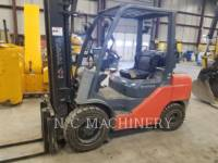 Equipment photo TOYOTA INDUSTRIAL EQUIPMENT 8FGCU30 FORKLIFTS 1