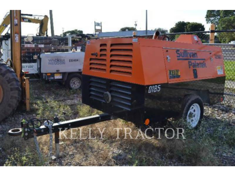 SULLIVAN AIR COMPRESSOR D185P DZ equipment  photo 2