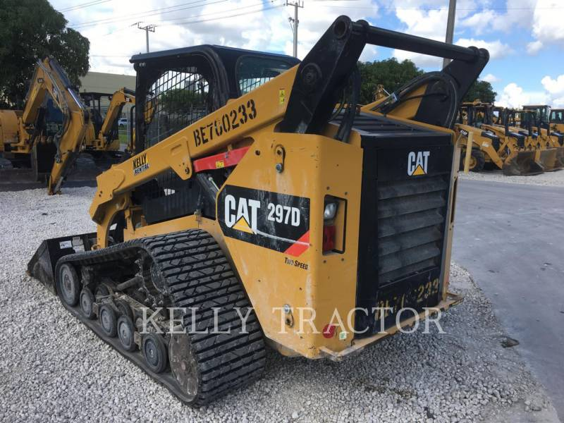 CATERPILLAR MULTI TERRAIN LOADERS 297D equipment  photo 3