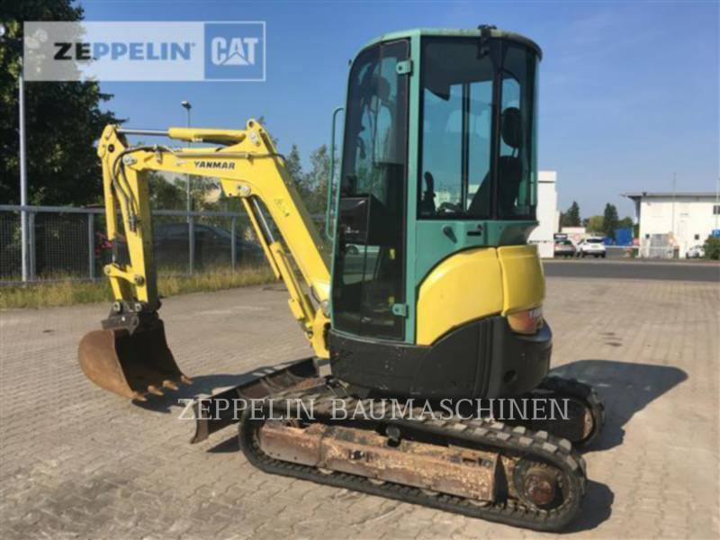 YANMAR KOPARKI GĄSIENICOWE VIO25-4 equipment  photo 3
