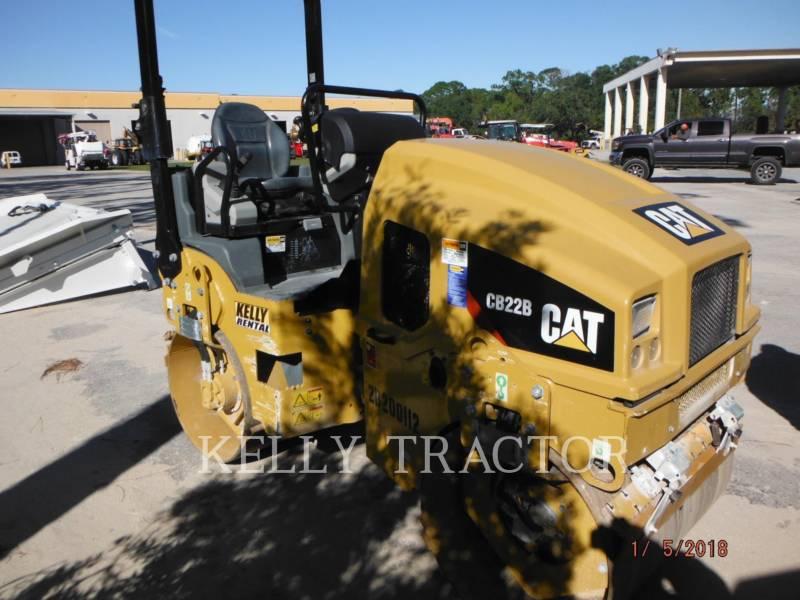 CATERPILLAR TAMBOR DOBLE VIBRATORIO ASFALTO CB22B equipment  photo 4