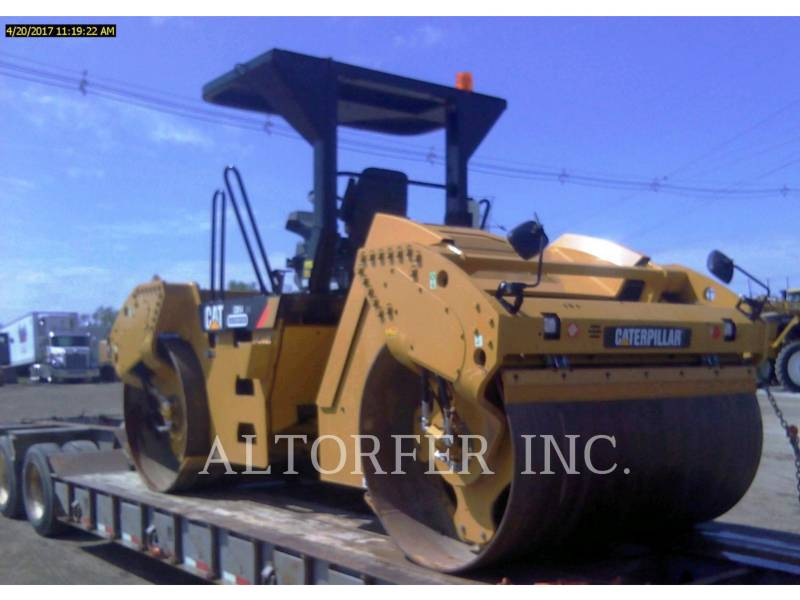 CATERPILLAR TANDEMOWY WALEC WIBRACYJNY DO ASFALTU (STAL-STAL) CB54XW equipment  photo 4