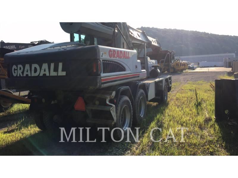 GRADALL COMPANY WHEEL EXCAVATORS XL4100 equipment  photo 4