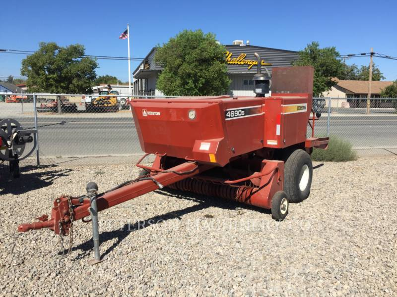 AGCO-HESSTON CORP AG HAY EQUIPMENT HT4690S equipment  photo 1