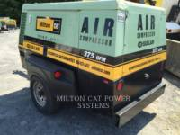 SULLAIR AIR COMPRESSOR (OBS) 375H equipment  photo 1