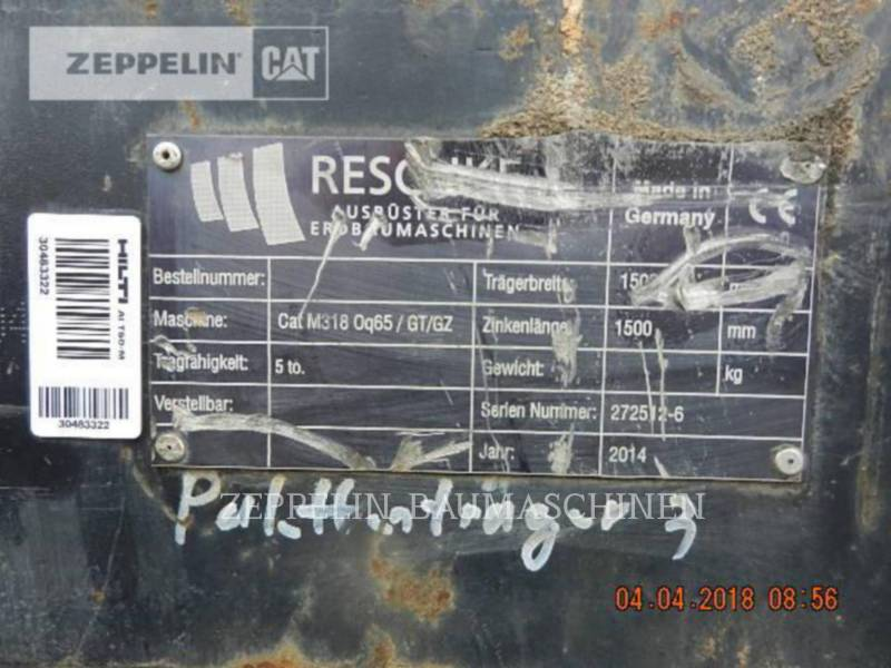 ZEPPELIN OTROS Palettengabel OQ65 equipment  photo 4