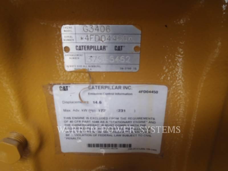 CATERPILLAR GRUPPI ELETTROGENI FISSI G3406NA NATURAL GAS equipment  photo 2