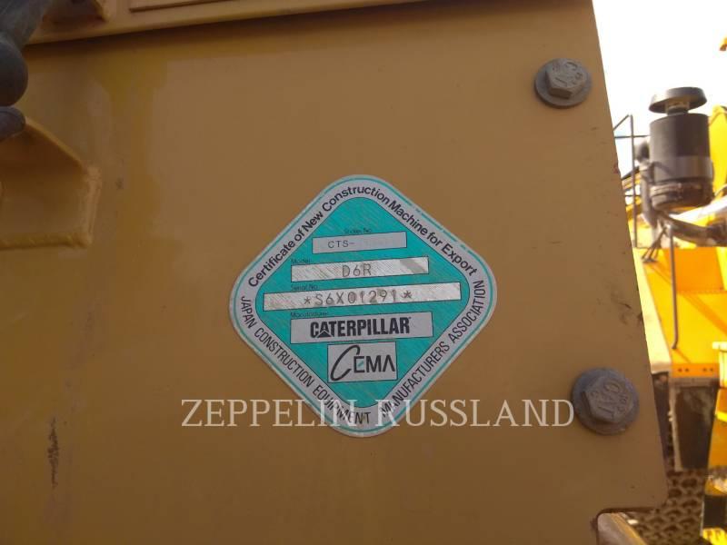 CATERPILLAR TRACK TYPE TRACTORS D6R equipment  photo 8