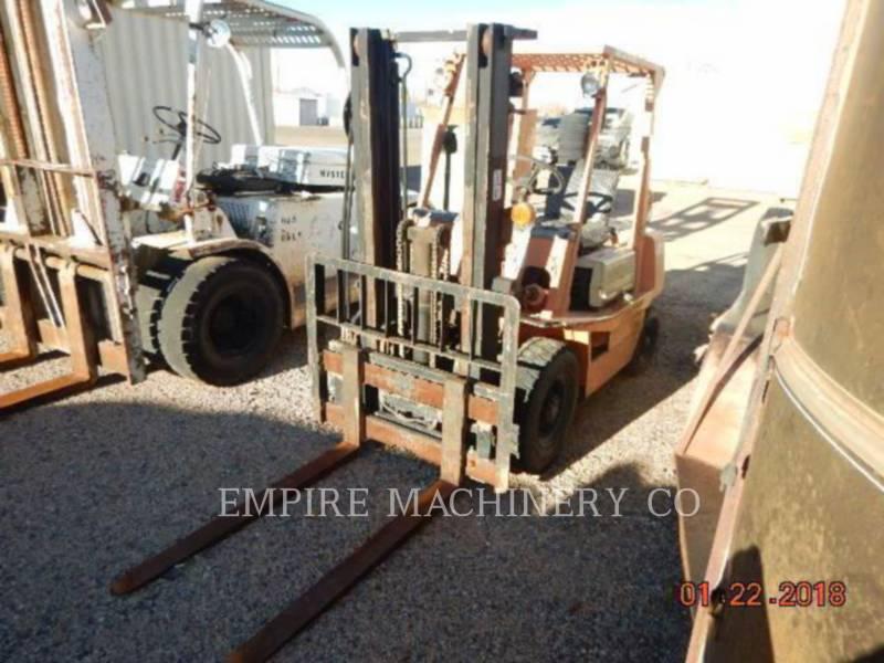 TOYOTA INDUSTRIAL EQUIPMENT LEVANTAMIENTO - PLUMA FORKLIFT equipment  photo 1
