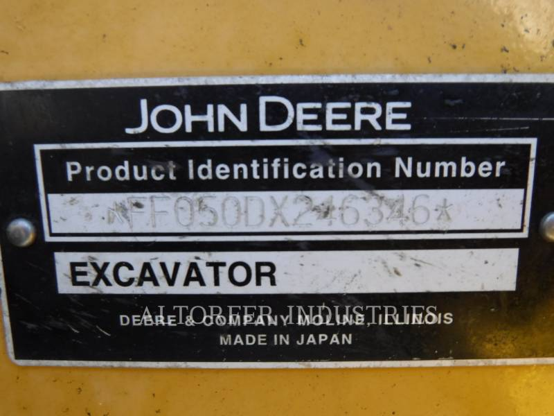 JOHN DEERE KETTEN-HYDRAULIKBAGGER 50D equipment  photo 11