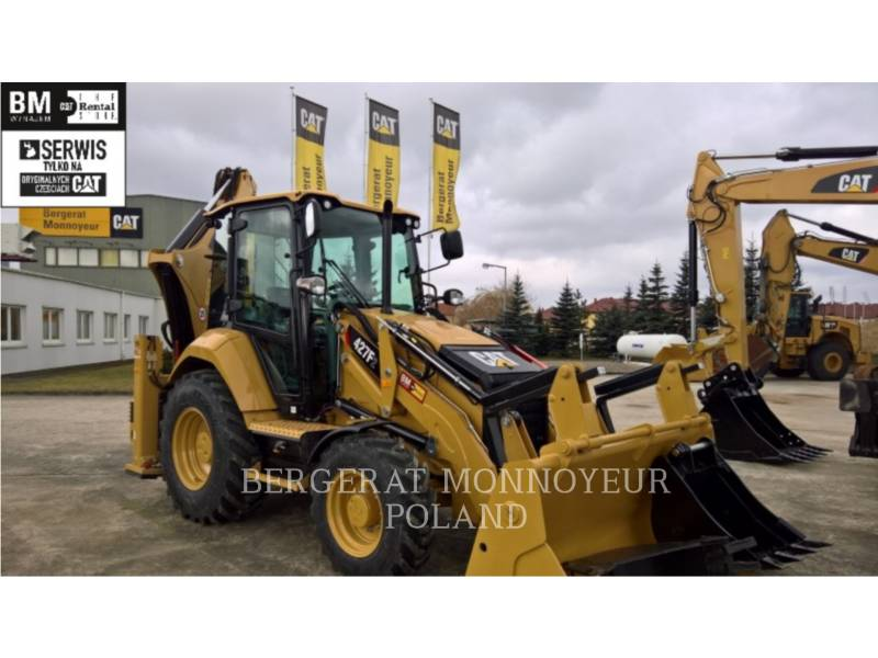 CATERPILLAR KOPARKO-ŁADOWARKI 427F2 equipment  photo 1