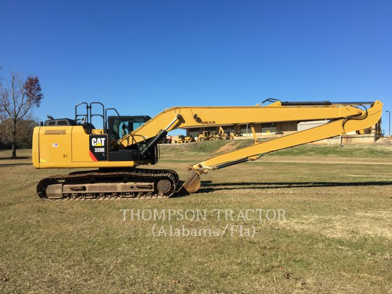 CATERPILLAR TRACK EXCAVATORS 320EL LR equipment  photo 8