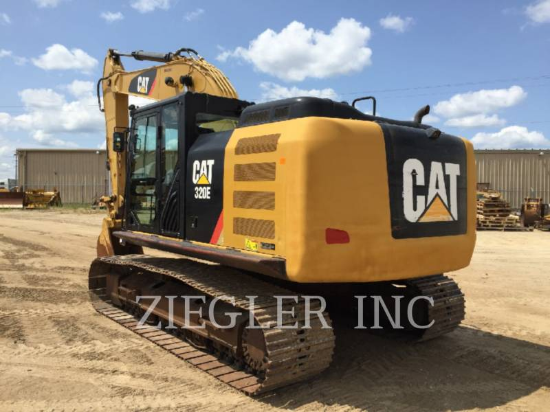 CATERPILLAR KETTEN-HYDRAULIKBAGGER 320EL equipment  photo 4