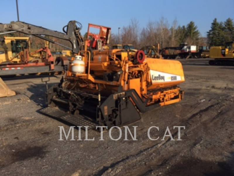LEE-BOY ASPHALT PAVERS 8500LD equipment  photo 8