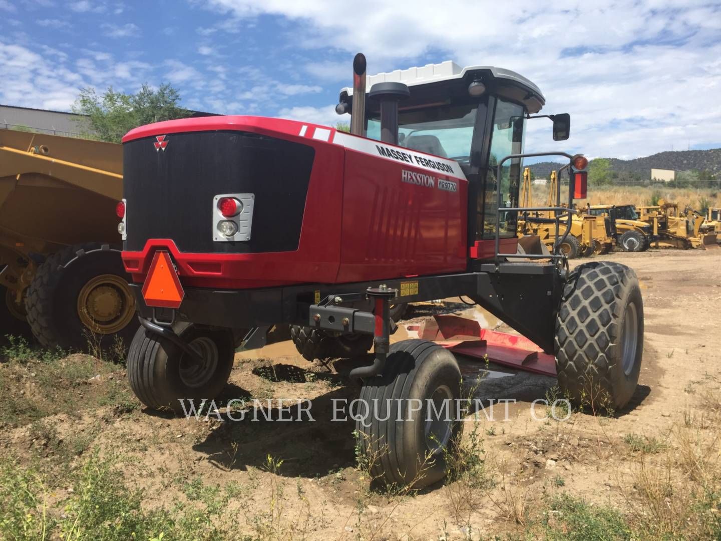 Detail photo of 2013 Massey Ferguson WR9770 from Construction Equipment Guide