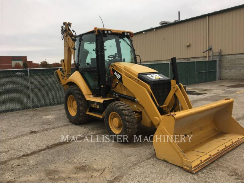CATERPILLAR バックホーローダ 416 F equipment  photo 1