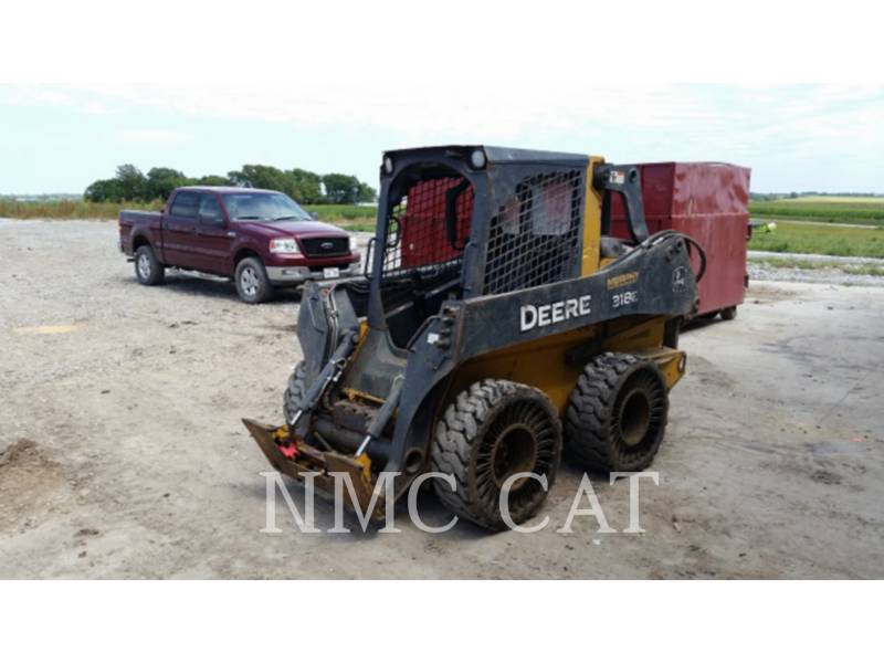 JOHN DEERE SKID STEER LOADERS 318E_JD equipment  photo 1