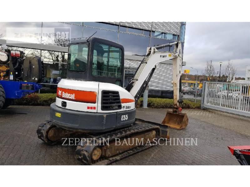 BOBCAT KETTEN-HYDRAULIKBAGGER E55 equipment  photo 3