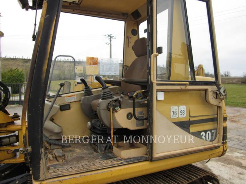 CATERPILLAR TRACK EXCAVATORS 307B equipment  photo 8