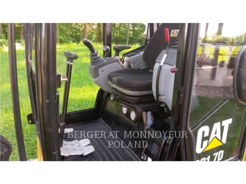 CATERPILLAR TRACK EXCAVATORS 301.7D equipment  photo 6