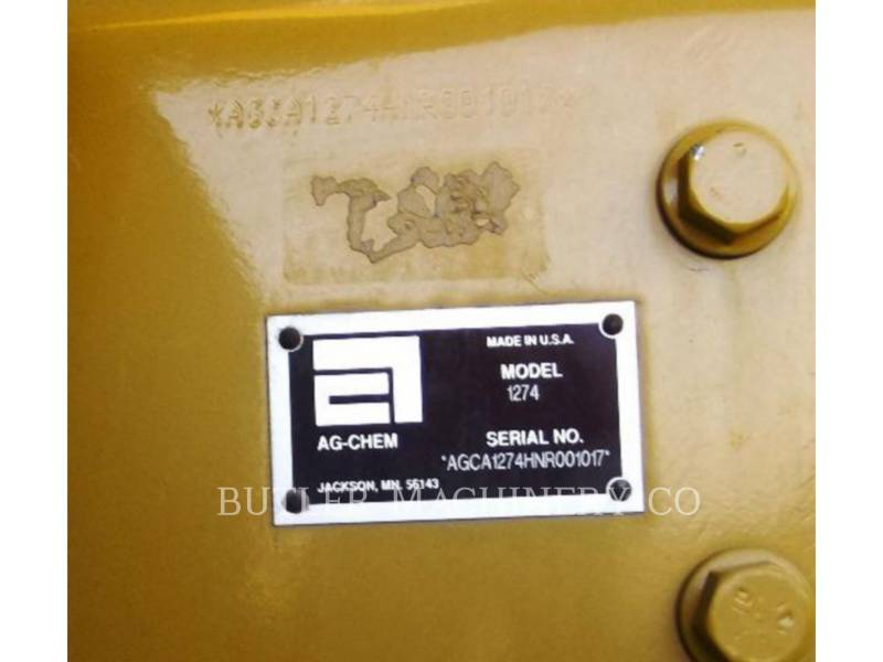 ROGATOR PULVÉRISATEUR RG1274 equipment  photo 1