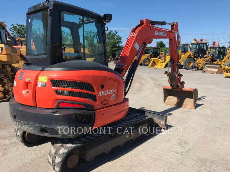 KUBOTA CANADA LTD. PELLES SUR CHAINES KX040 equipment  photo 3
