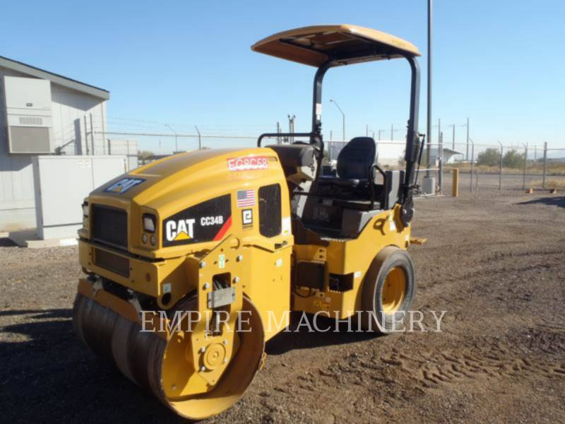 CATERPILLAR COMPACTEURS MIXTES CC34B equipment  photo 3