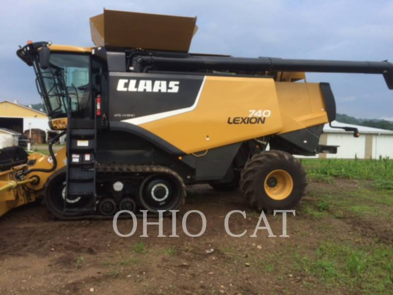 CLAAS OF AMERICA KOMBAJNY LEX740TTFR equipment  photo 7