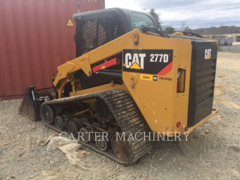 CATERPILLAR CARGADORES MULTITERRENO 277D AC equipment  photo 4