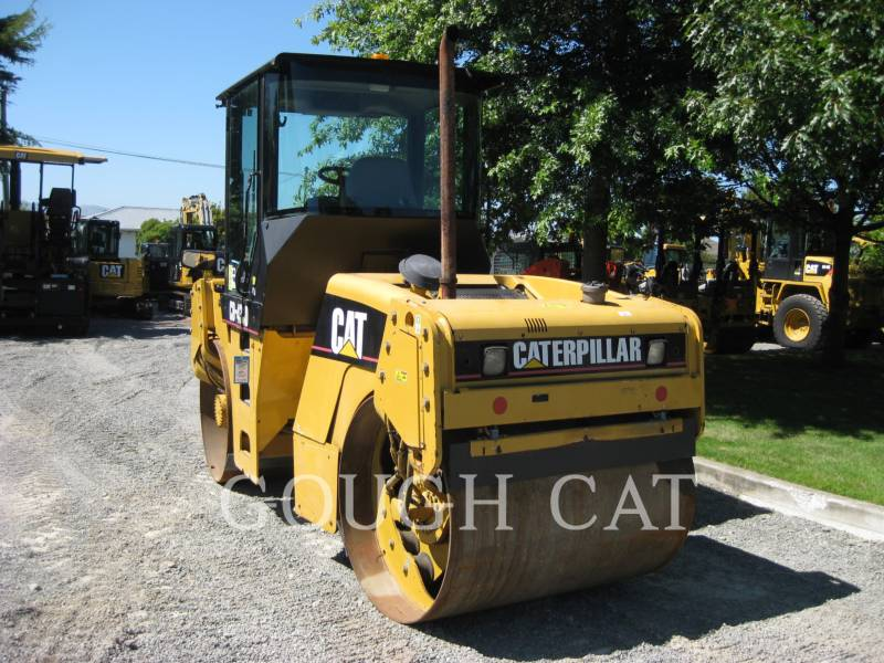 CATERPILLAR VIBRATORY DOUBLE DRUM ASPHALT CB-434D equipment  photo 4