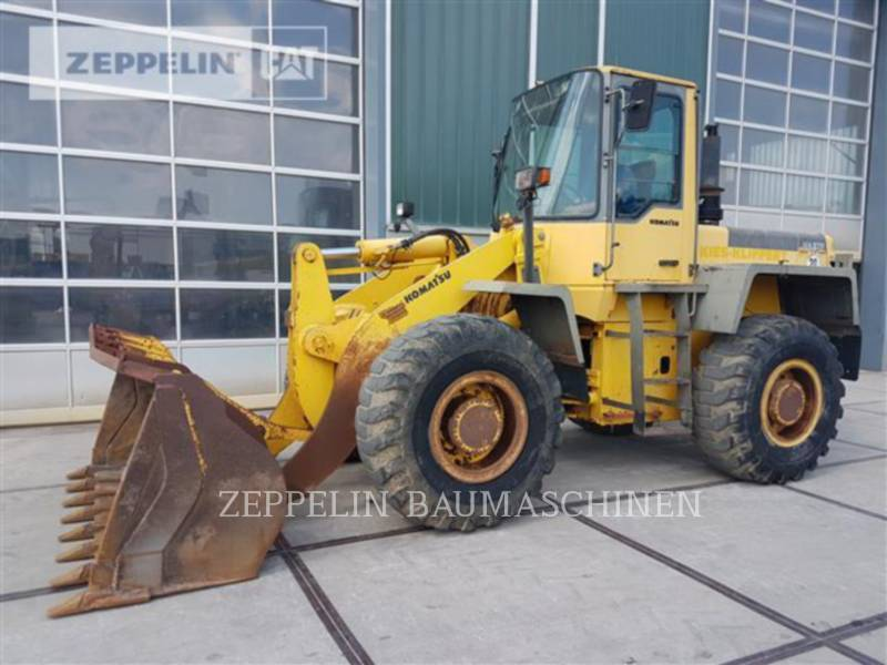 KOMATSU LTD. PALE GOMMATE/PALE GOMMATE MULTIUSO WA270-3 equipment  photo 3