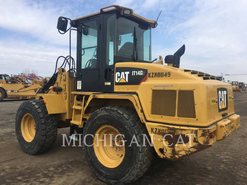 CATERPILLAR WHEEL LOADERS/INTEGRATED TOOLCARRIERS IT14G A equipment  photo 4