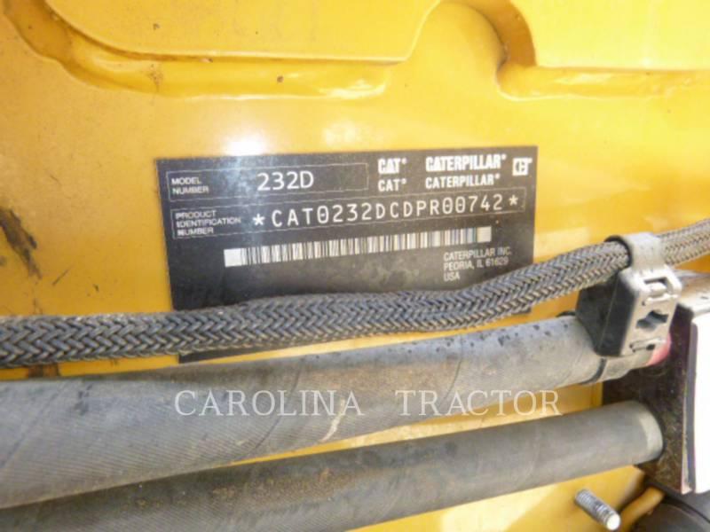 CATERPILLAR MINICARREGADEIRAS 232D equipment  photo 8