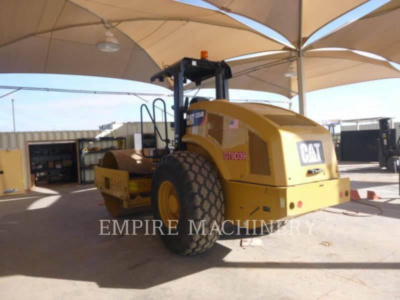 CATERPILLAR EINZELVIBRATIONSWALZE, GLATTBANDAGE CS54B equipment  photo 3