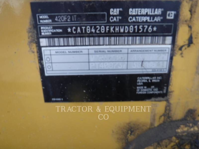 CATERPILLAR GRAAF-LAADCOMBINATIES 420F24ETCB equipment  photo 2