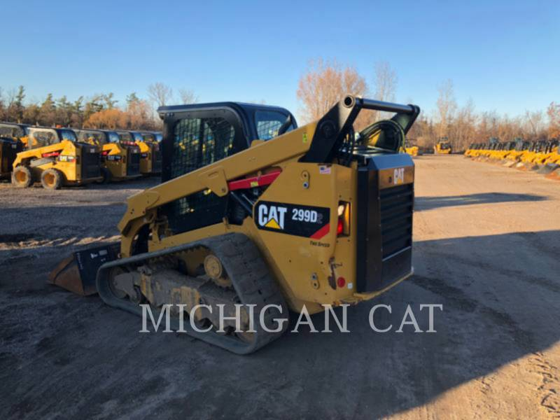 CATERPILLAR CARGADORES MULTITERRENO 299D2 equipment  photo 5
