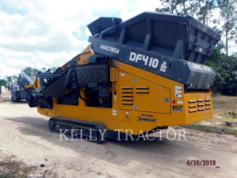ANACONDA  SCREENER DF410 equipment  photo 3
