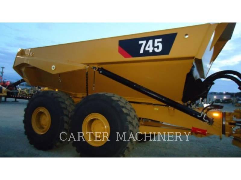 CATERPILLAR CAMIONES ARTICULADOS 745 equipment  photo 6