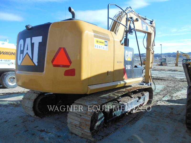 CATERPILLAR EXCAVADORAS DE CADENAS 316EL HMR equipment  photo 3