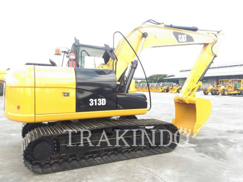 CATERPILLAR TRACK EXCAVATORS 313D equipment  photo 7