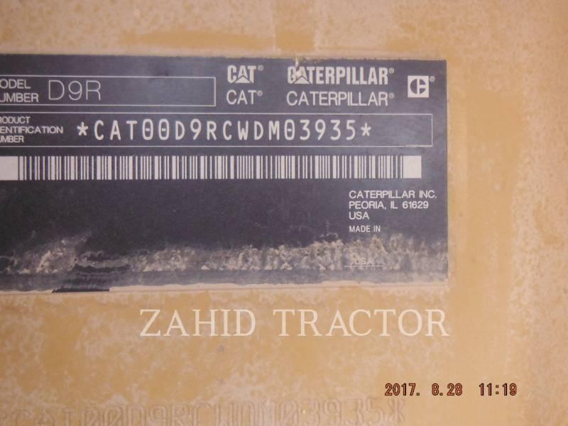 CATERPILLAR TRACK TYPE TRACTORS D 9 R equipment  photo 7