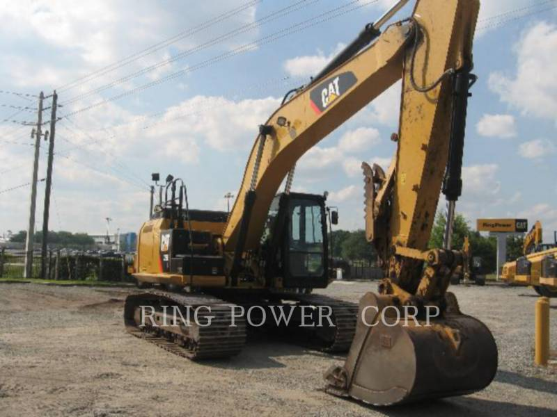 CATERPILLAR TRACK EXCAVATORS 329ELTHUMB equipment  photo 2