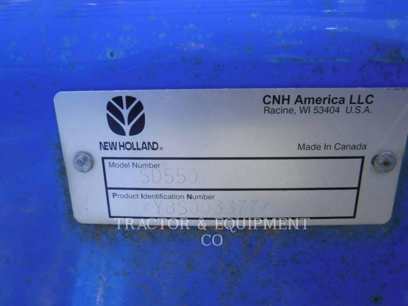 FORD / NEW HOLLAND ROLNICTWO - INNE SD550 equipment  photo 4