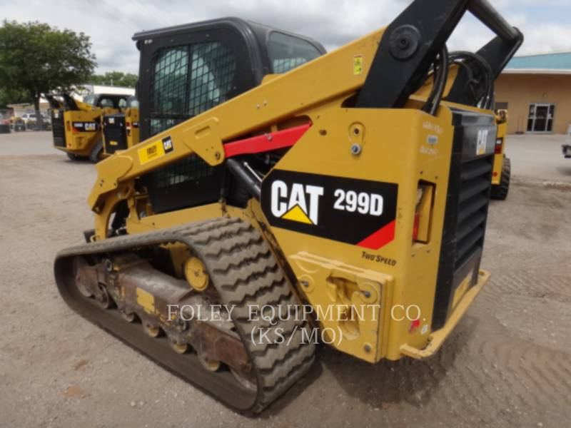 CATERPILLAR SKID STEER LOADERS 299DSTD2CA equipment  photo 3