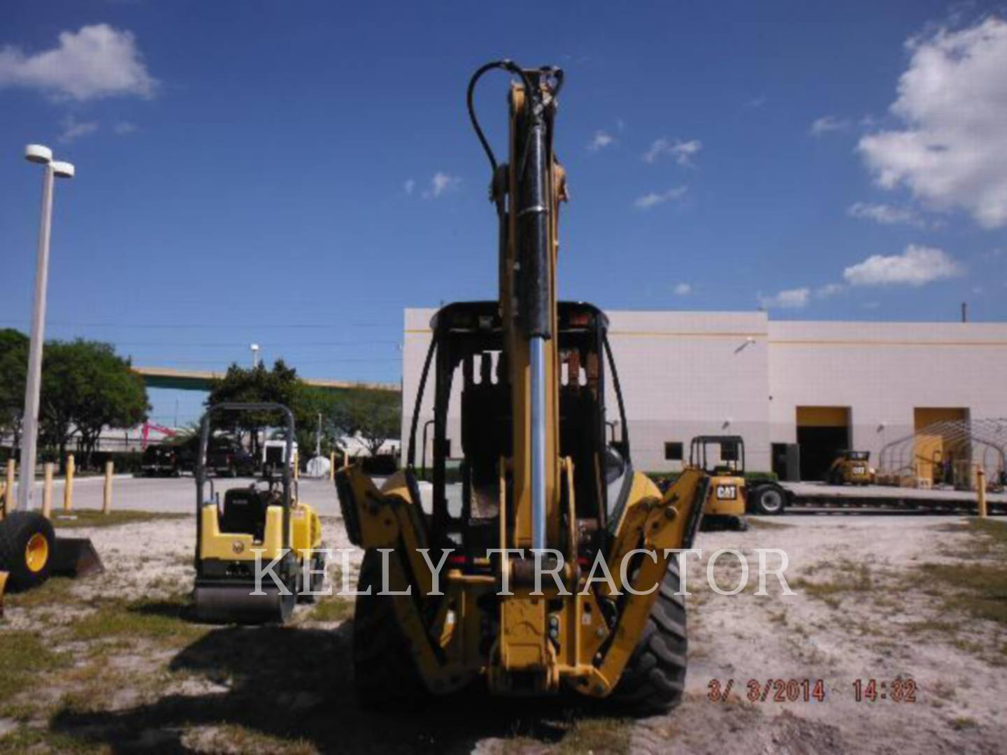 Detail photo of 2012 Caterpillar 416F from Construction Equipment Guide