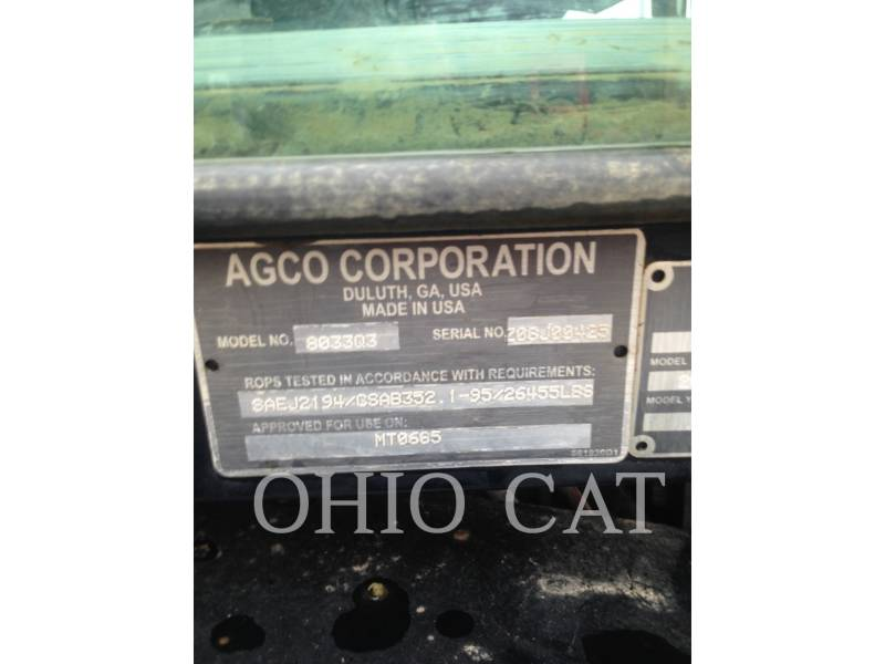 AGCO-CHALLENGER AG TRACTORS MT685D equipment  photo 16